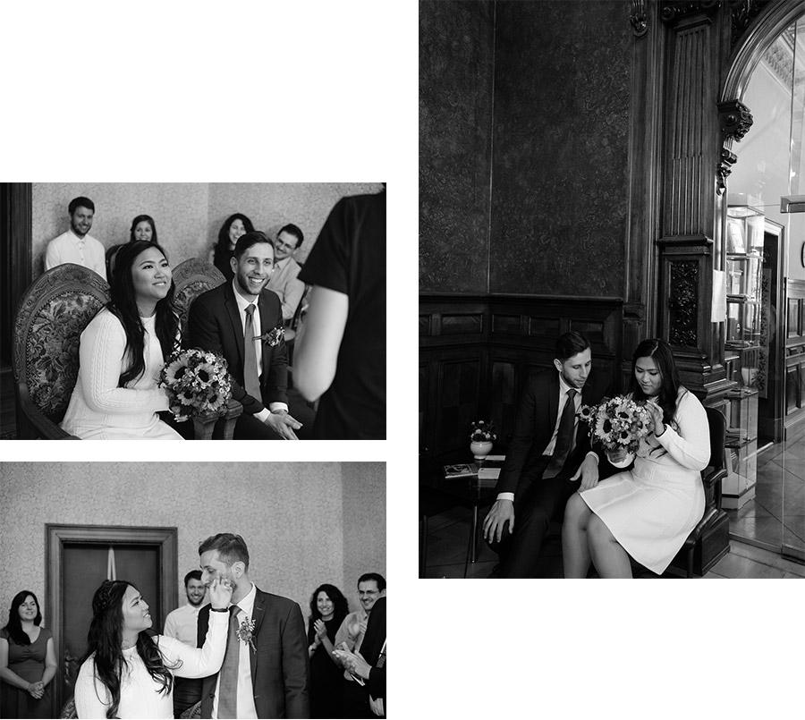 Ceremony in the city hall – Simple wedding in Berlin Standesamt Charlottenburg Wilmersdorf – Hochzeit Fotograf